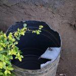 The Water Project: Mukhungula Community, Mulongo Spring -  Rain Harvesting Tank