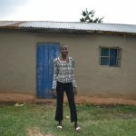The Water Project: Mukhungula Community, Mulongo Spring -  Sheila Mulongo Outside Her Home