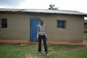 The Water Project:  Sheila Mulongo Outside Her Home