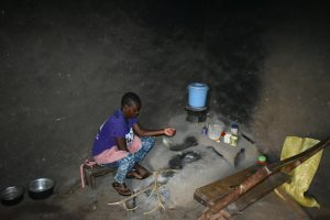 The Water Project:  Stoking The Fire Inside The Kitchen