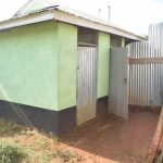 The Water Project: Kalisasi Secondary School -  Girls Latrines