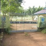 The Water Project: Kalisasi Secondary School -  School Gate