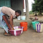 The Water Project: Lungi, Suctarr, #3 Lovell Lane -  Woman Laundrying