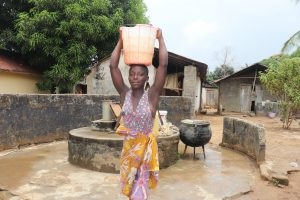 The Water Project:  Young Girl Carrying Water