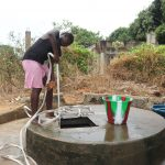 The Water Project: Lungi, Suctarr, #3 Lovell Lane -  Young Girl Collecting Water
