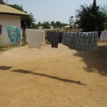The Water Project: Lungi, New London, Saint Dominic's Catholic Church -  Clothesline