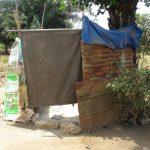 The Water Project: Lungi, New London, Saint Dominic's Catholic Church -  Bathing Shelter