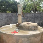 The Water Project: Lungi, New London, Saint Dominic's Catholic Church -  Well In Need Of Rehab