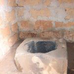 The Water Project: Lungi, Kambia, #6 Bangura St. -  Inside Latrine