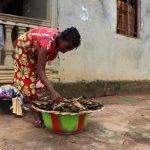 The Water Project: Lungi, Kambia, #6 Bangura St. -  Lady Selling Fish