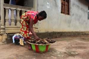 The Water Project:  Lady Selling Fish