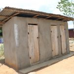 The Water Project: Lungi, Suctarr, #47 Kamara Street -  Latrine