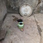 The Water Project: Lungi, Rotifunk, 22 Kasongha Road -  Inside Disable Latrine