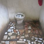The Water Project: Lungi, Rotifunk, 22 Kasongha Road -  Inside Latrine