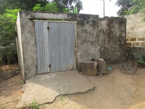 The Water Project:  Latrine For Disable