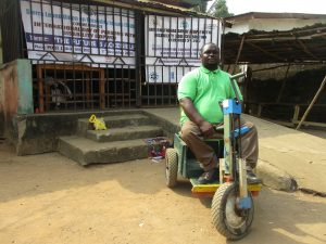 The Water Project:  Mr Abdulai Kamara Head Of Disable Interview