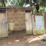 The Water Project: Lungi, Suctarr, #1 Kabbia Lane -  Latrine And Bath Shelter