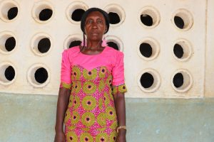 The Water Project:  Head Teacher Madam Fatmata Kalokoh