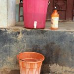 The Water Project: Lungi, Tintafor, St. Augustine Senior Secondary School -  Hand Washing Station