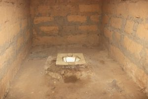 The Water Project:  Inside Coomunity Latrine
