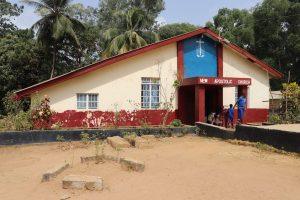 The Water Project:  School Church Building