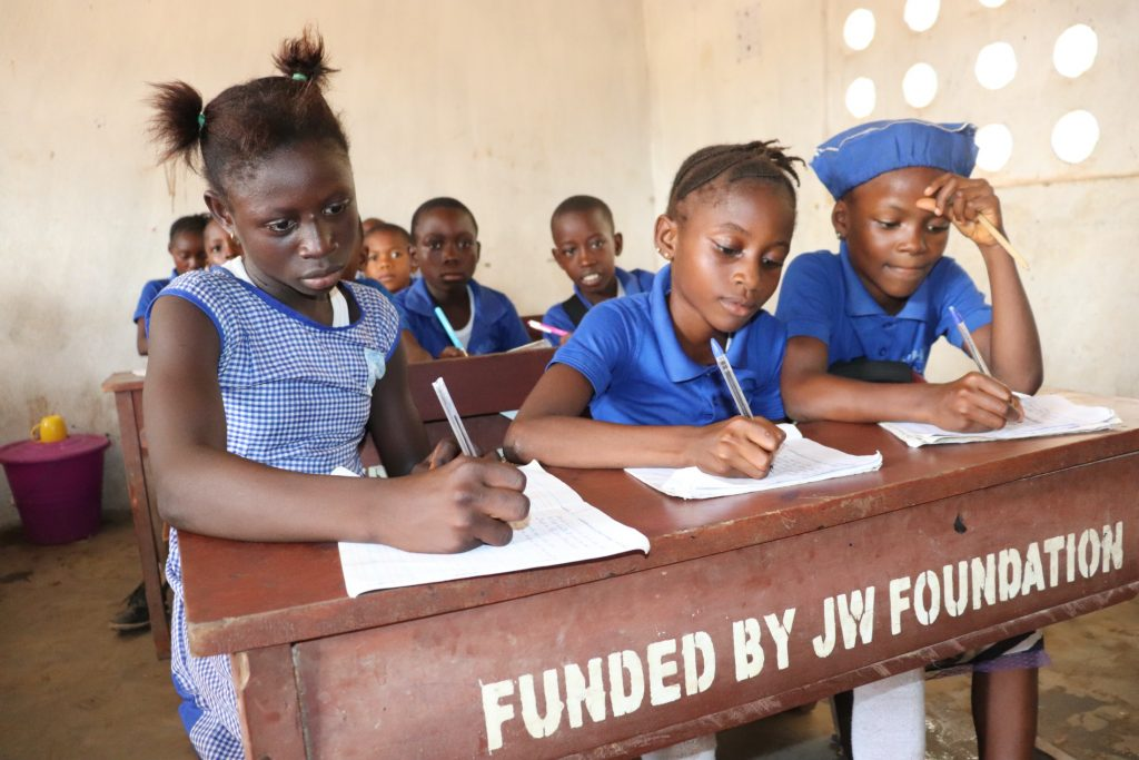 The Water Project : sierraleone20432-students-inside-classroom-2