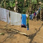The Water Project: Lokomasama, Conteya Village -  Clothesline
