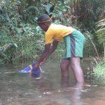 The Water Project: Lokomasama, Conteya Village -  Collecting Water