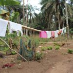 The Water Project: Lokomasama, Rotain Village -  Clothes Line