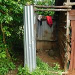 The Water Project: Maraba Community, Nambwaya Spring -  Bathing Shelter