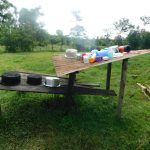 The Water Project: Maraba Community, Nambwaya Spring -  Dishrack