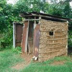The Water Project: Maraba Community, Nambwaya Spring -  Latrine And Bathing Shelter