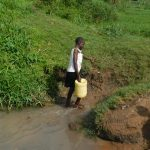 The Water Project: Maraba Community, Nambwaya Spring -  Leaving The Spring