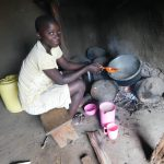 The Water Project: Maraba Community, Nambwaya Spring -  Preparing A Meal Inside The Kitchen