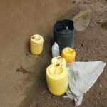 The Water Project: Maraba Community, Nambwaya Spring -  Water Storage Containers