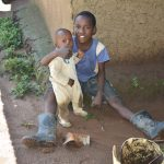 The Water Project: Emusaka Community, Muluinga Spring -  Some Early Morning Happiness