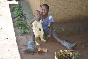 The Water Project:  Some Early Morning Happiness