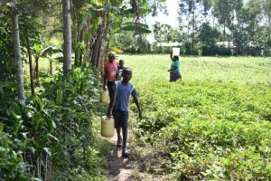 The Water Project:  Taking Water Home From Muluinga Spring