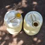 The Water Project: Emusaka Community, Muluinga Spring -  Water Storage Containers