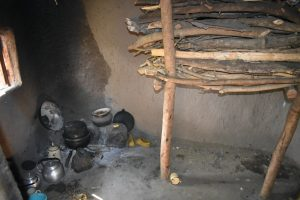 The Water Project:  Firewood Stored In Kitchen