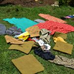 The Water Project: Bukalama Community, Wanzetse Spring -  Airing Laundry To Dry
