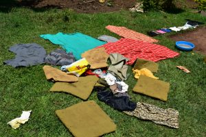 The Water Project:  Airing Laundry To Dry