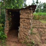 The Water Project: Bukalama Community, Wanzetse Spring -  Latrine