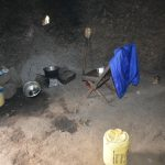 The Water Project: Bukalama Community, Wanzetse Spring -  Inside The Kitchen
