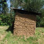 The Water Project: Mabanga Community, Ashuma Spring -  Latrine