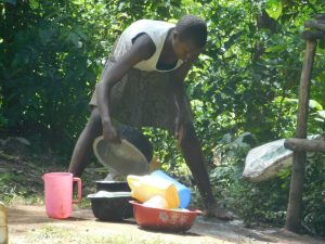The Water Project:  Washing Utensils