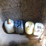 The Water Project: Mabanga Community, Ashuma Spring -  Water Storage Containers