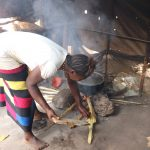The Water Project: Lungi, New London, Saint Dominic's Catholic Church -  Woman Cooking