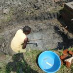 The Water Project: Eshiakhulo Community, Asman Sumba Spring -  Digging The New Drawing Area
