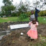 The Water Project: Eshiakhulo Community, Asman Sumba Spring -  The Little Ones Were Present Too